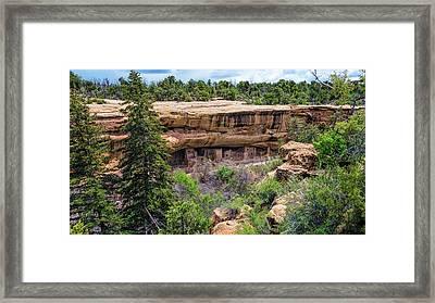 Spruce Tree House Mesa Verde Framed Print