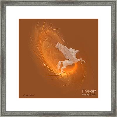 Spun From Gold Framed Print by Corey Ford