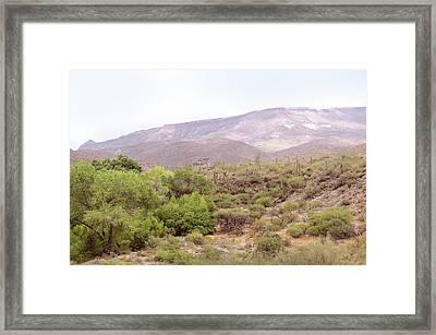 Spur Cross Ranch Framed Print