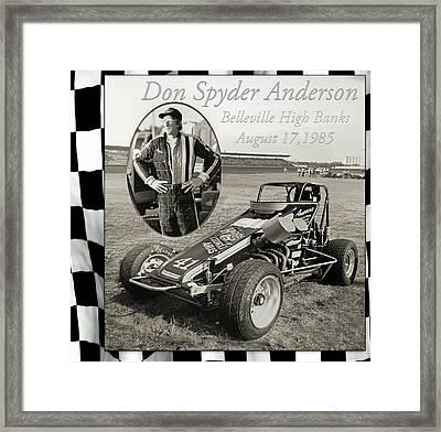 Spyder Framed Print