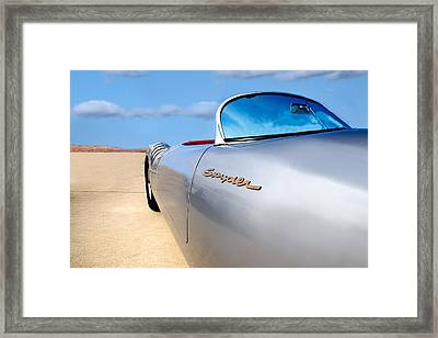 Spyder Framed Print by Peter Tellone
