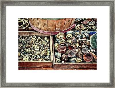 Spying Junk Framed Print by Mike Smale