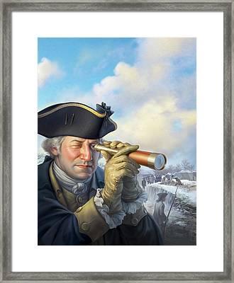 Spymaster George Framed Print