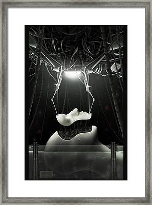 Spyrotek Dekonstrukt Framed Print by Martin Bland