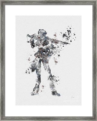 Squall Leonhart Framed Print