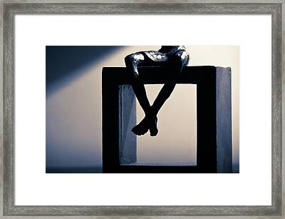 Square Foot Framed Print