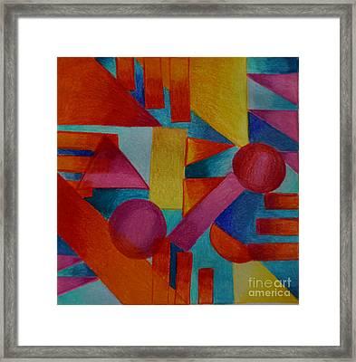 Square Framed Print by Kathryn Jinae