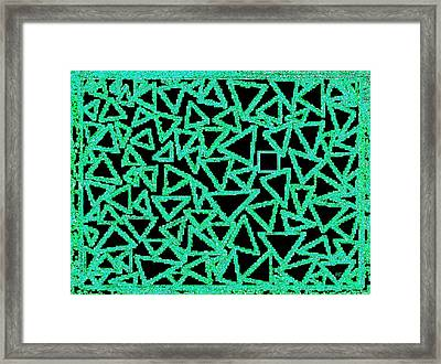 Square One Framed Print by Will Borden