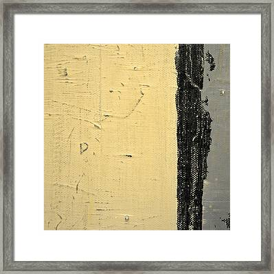 Framed Print featuring the painting Square Study Project 11 by Michelle Calkins