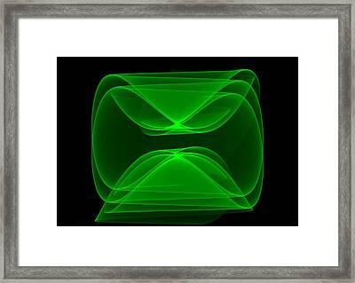 Squarefaced - Da Framed Print by Leonardo Digenio