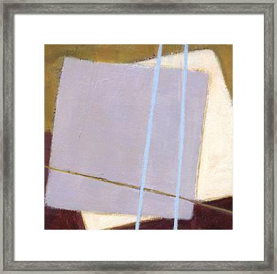 Squares 1 Framed Print by Alice Kirkpatrick