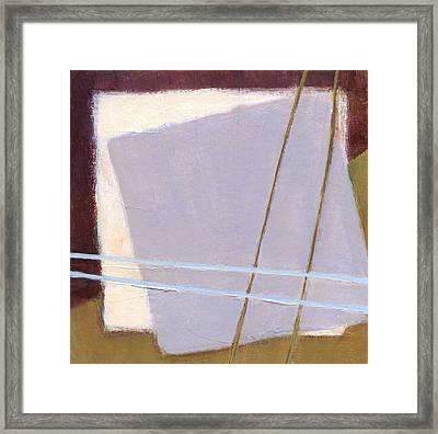 Squares 3 Framed Print by Alice Kirkpatrick