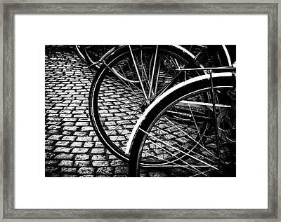 Squares And Circles  Framed Print