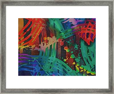 Squares And Other Shapes 2 Framed Print