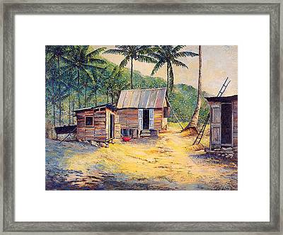 Squatters Framed Print