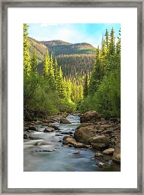 Squaw Creek, Colorado #2 Framed Print