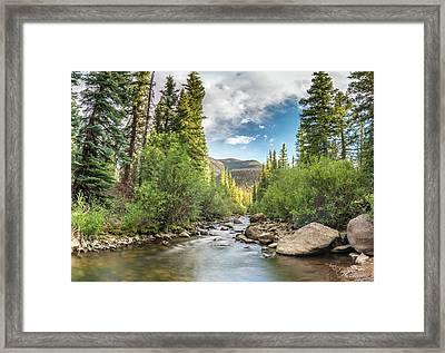 Squaw Creek, Colorado Framed Print