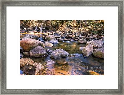 Squaw Creek Framed Print by Robert Bales