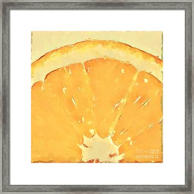 Squeeze Me 2 Framed Print