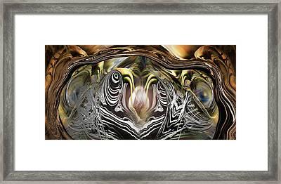 Squid Liquidation Framed Print by Steve Sperry