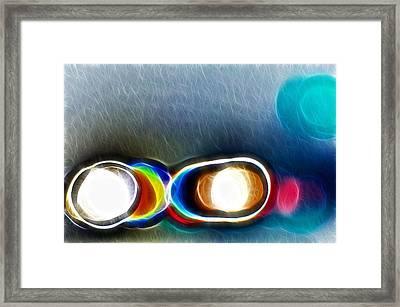 Squint Framed Print by Thomas  MacPherson Jr