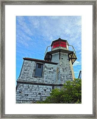 Squirrel Point Lighthouse Framed Print