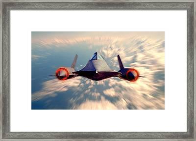 Sr 71 Framed Print