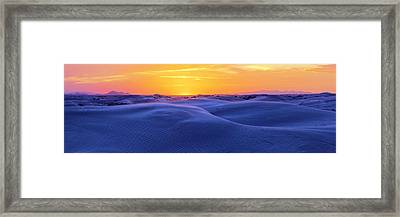 Scramble Framed Print by Chad Dutson