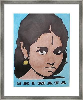 Sri Mata Framed Print by Kenneth Regan