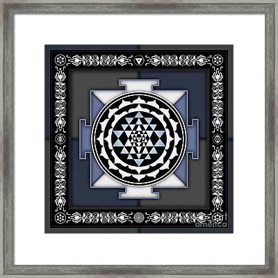 Sri Yantra - No. 2 Framed Print