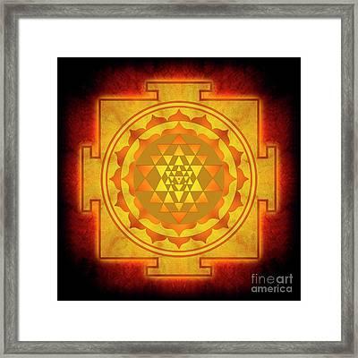 Sri Yantra - No. 1 Framed Print