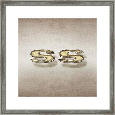 Super Sport Emblem Framed Print by YoPedro