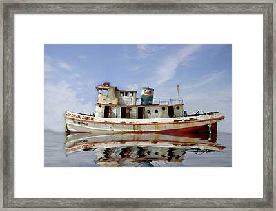 Ss Hurricane Camille Framed Print by Shelly Stallings