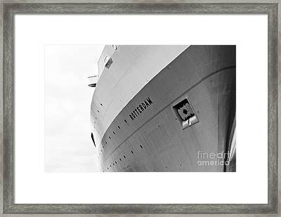 Ss Rotterdam Abstract Framed Print by Dean Harte