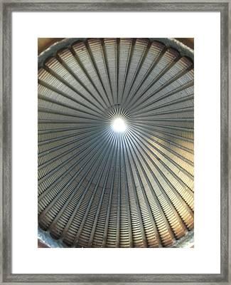 S.s. Screen Framed Print