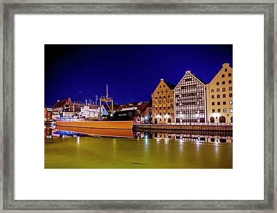 Ss Soldek Gdansk Poland  Framed Print by Carol Japp
