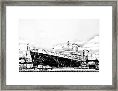 Ss United States Framed Print by Bill Cannon