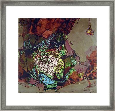Ss1978ny001 Luz De Otono 3-7 15x14.25 Framed Print
