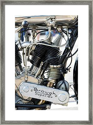Ss80 Engine Framed Print