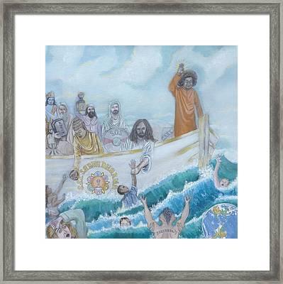 Sathya Sai Baba S.s.s. Sarva Dharma Framed Print