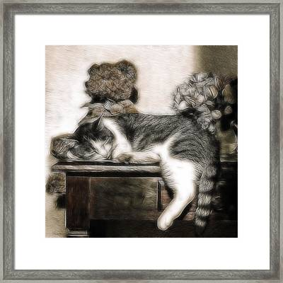 Ssssleeeping Framed Print by Joachim G Pinkawa