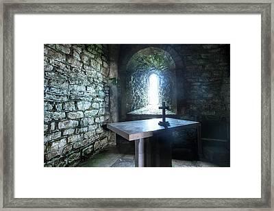 St Adhelm's Chapel - England Framed Print