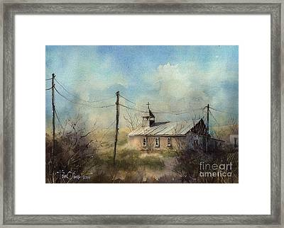 St Agnes Of Terlingua Framed Print by Tim Oliver