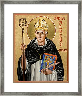 St. Albert The Great - Jcatg Framed Print