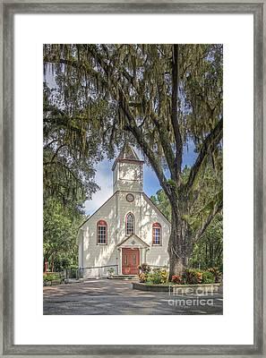 St. Ambrose Catholic Church  Framed Print