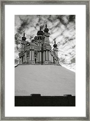 St. Andrew Church. Kyiv, 2014. Framed Print