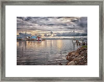 St Andrews Bay Framed Print by Debra Forand
