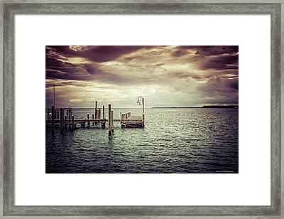 St Andrews Marina 2 Framed Print by Debra Forand