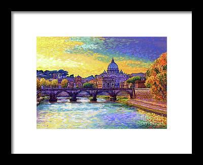 Capital City Framed Prints