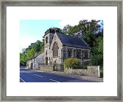 St Anne's Church - Millers Dale Framed Print